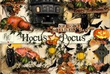 Hocus Pocus Collection / A huge Halloween themed digital scrapbook collection. / by Raspberry Road Designs
