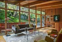 Mid-century & Modern / mid century home style and decor #retro #vintage