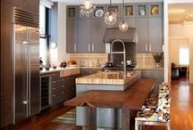 Modern kitchens / contemporary, modern and minimalist kitchen style and decor