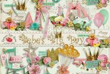 Bebe's Big Day Birthday Collection / by Raspberry Road Designs