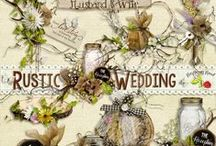 Rustic Wedding / A rustic wedding themed scrapbook collection from Raspberry Road Designs. / by Raspberry Road Designs