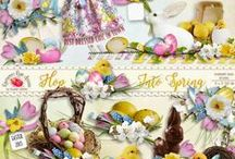 Hop Into Spring Collection / by Raspberry Road Designs
