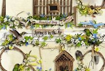 Spring Is In The Air Collection / by Raspberry Road Designs