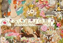 Woodland Baby Scrapbook Collection / by Raspberry Road Designs