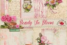 Beauty In Bloom Collection / by Raspberry Road Designs