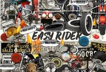 Easy Rider Scrapbook Kit / A motorcycle themed scrapbook collection.