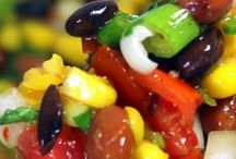 VEGETARIAN DISHES / Delicious vegetable, salad and fruit dishes