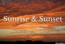 Sunrise & Sunset / Florida has both an east and west coast, meaning we get beautiful views in the morning and evening. Here's our collection of sunrise and sunset pictures taken by Florida State Park enthusiasts and rangers.  / by Florida State Parks