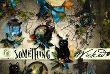 Something Wicked Halloween Collection / A beautiful Halloween themed scrapbook collection. / by Raspberry Road Designs