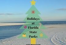 Holidays at Florida State Parks / This season, take advantage of the great outdoors and plan your holiday events at a Florida state park. Most parks are open for Christmas and New Years. / by Florida State Parks