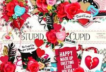 Stupid Cupid Scrapbook Collection / A sassy fun Valentine themed digital scrapbook collection. / by Raspberry Road Designs