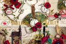 Timeless Beauty Scrapbook Collection / A beautiful timeless digital scrapbook collection from Raspberry Road Designs. / by Raspberry Road Designs