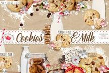 Cookies And Milk Collection / by Raspberry Road Designs