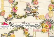 Everyday Beautiful Scrapbook Collection / A collection about finding beauty in everyday life. / by Raspberry Road Designs