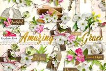 Amazing Grace Collection / A faith inspired digital scrapbook collection. / by Raspberry Road Designs
