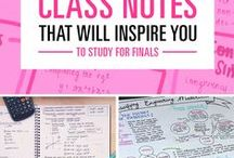 Notetaking / Tips and tricks for taking notes that will help you learn.