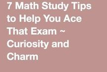 Math Tips / Need help with math? Who doesn't?