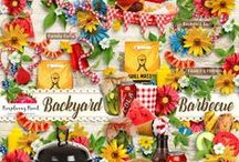 Backyard Barbecue / A BBQ themed digital scrapbook collection. / by Raspberry Road Designs