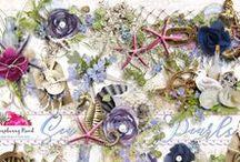 Sea Pearls Scrapbook Collection