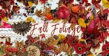 Fall Foliage Collection / A beautiful Fall themed digital scrapbook kit from Raspberry Road Designs.