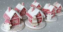 Baking-Gingerbread Houses