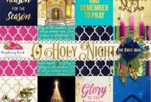 O Holy Night Collection / A beautiful nativity themed scrapbook collection.