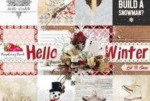 Hello Winter Scrapbook Kit