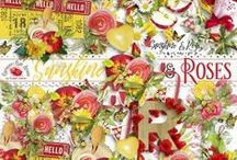 Sunshine & Roses Collection / A inspirational kit filled with beautiful papers, embellishments, and much more. Something for everyone.