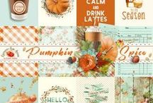 Pumkin Spice Scrapbook Collection