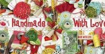 Handmade With Love / A beautiful sewing themed scrapbook collection.