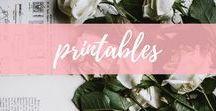printables / Printable art, organization and quotes, plus free printables.