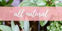 all natural / Natural remedies, natural beauty products and natural home products for green living and an environmentally friendly home.