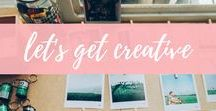 let's get creative / Creative inspiration and tips for writing, photography, design, graphics and fonts.