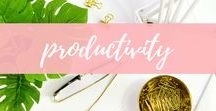 productivity / Stay focused with productivity tips, time management and organization ideas to keep your life and business in order.