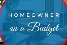 Homeowner on a Budget / All about the journey to buying a house: Saving for a downpayment on a house, becoming a homeowner, decorating a house on a budget.