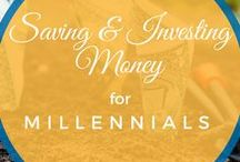 Saving & Investing Money for Millennials / All things money management. How to set a budget, how to start investing, how to pay off debt, how to manage credit cards, and how to take control of your finances.