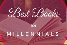 Best Books for Millennials / Best books for millennials who are avid readers. These include books on personal development, professional development, entrepreneurship, and more!