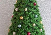Árvores e itens natalinos! / Ideias para se inspirar para um bem maior!