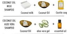Coconut Oil For Hair Uses / Follow for recipes and ideas on how to use coconut oil for your hair
