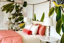 Beverly hills hotel style - tropical/pink
