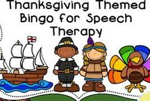 Thanksgiving activities for speech therapy