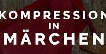 Kompression in Märchen / Die Kompression mit Märchen verschmolzen