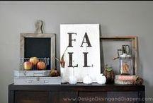 Fall Inspiration / Fall ideas and decor