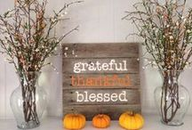 Holiday | Thanksgiving / Give thanks with delicious Thanksgiving recipes and beautiful Thanksgiving tablescapes. Also crafts for the kids.
