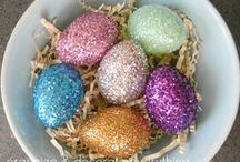 Holiday | Easter / Fun crafts and activities for Easter. Eggs hunts, Easter baskets, bunny crafts and decorations.