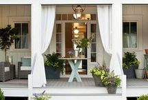 Decorate | Porches / Ways to decorate your porch.  / by Leanne {Organize & Decorate}