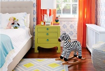 Colorful rooms -  no fear of color here