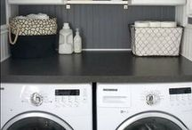 Decorate | Laundry Room / How to decorate your laundry room and give it some extra color and style. / by Leanne {Organize & Decorate}