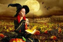 Witches / She who changes and bends her consciousness at will; one who uses altered states of consciousness to heal, manifest, give prophecy and voice to the Goddess. A dirt worshipping tree hugger, who loves black cats, well made brooms, and a good cup of wassail.  / by Andrea Bella Terra