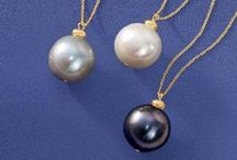 Pearls / Consider pearls the building blocks of your jewelry box. They're traditional at first glance, but check out all the ways you can vary the look. It's time to give those pearls some personality.